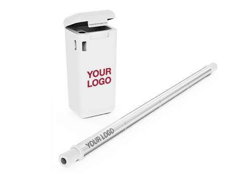 Fold - Branded Metal Straws